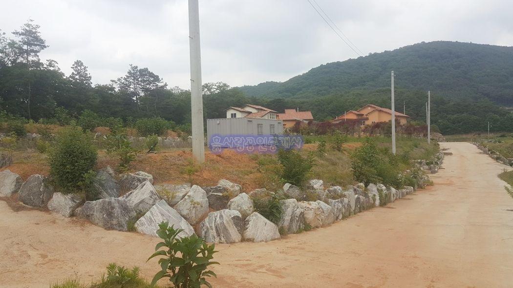 건축허가 및 기반시설 완비 된 남향의 전원주택단지