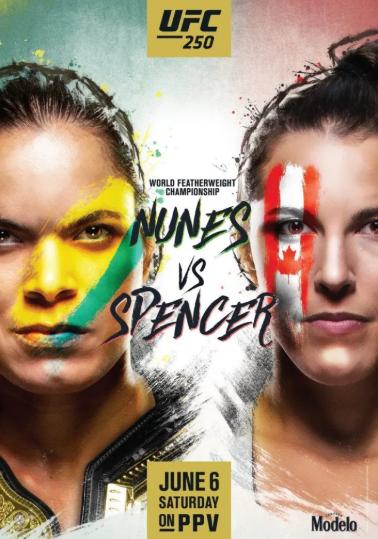 UFC250 누네스 VS 스펜서 프릴림카드 감상후기 - 명암이 갈린 두명의 주짓수 베이스 기대주들
