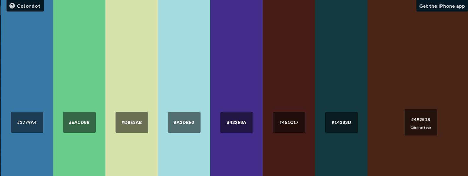 색상 찾기 - 어울리는 색상을 찾아보자
