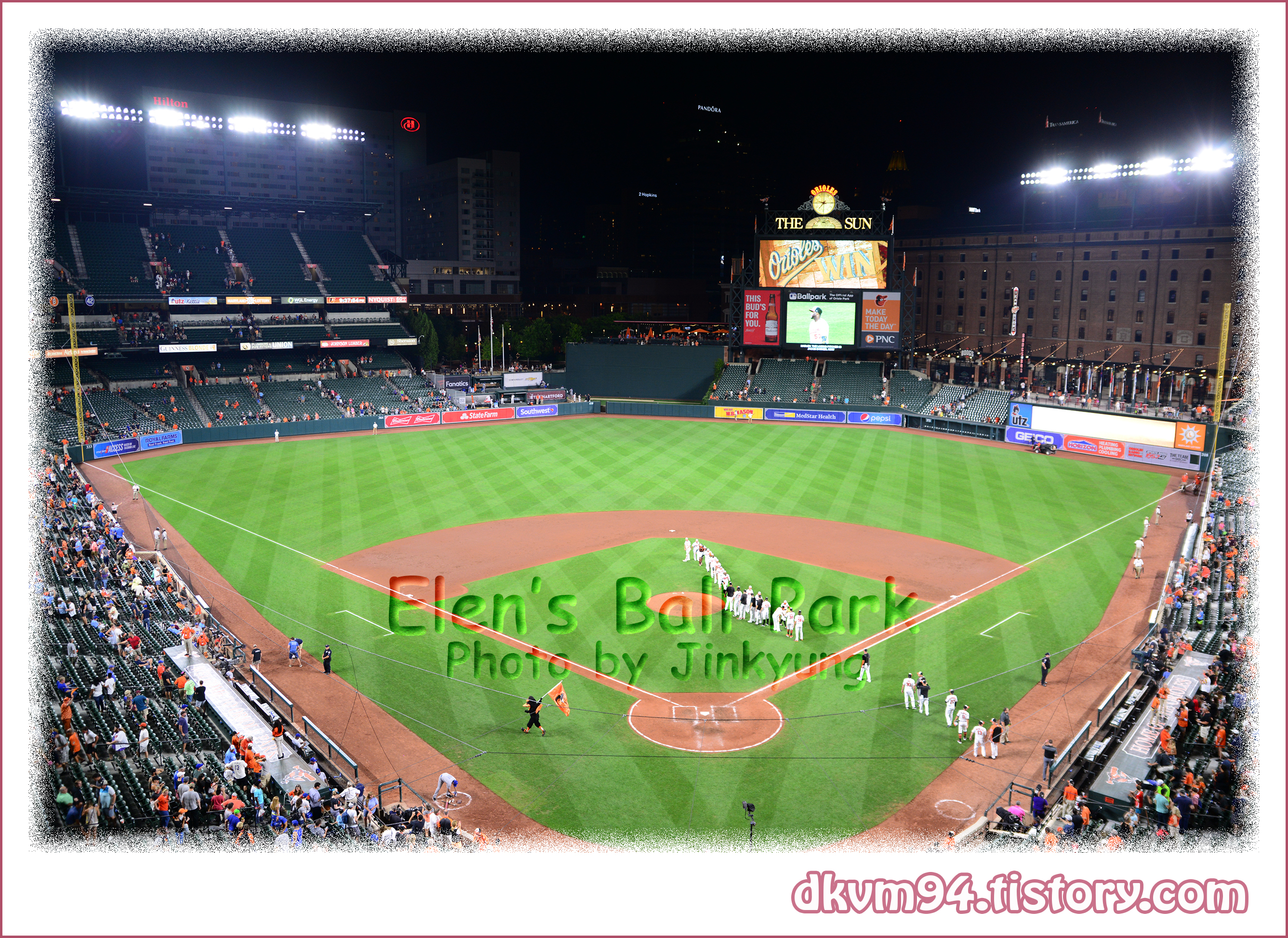 [MLB TOUR(25)] 오리올 파크 앳 캠든 야즈 : 볼티모어 오리올스의 홈구장 (Oriole Park at Camden Yards : Home of the Baltimore Orioles)