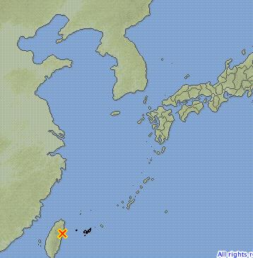 대만 화롄 해안내륙 지진 발생 6.3