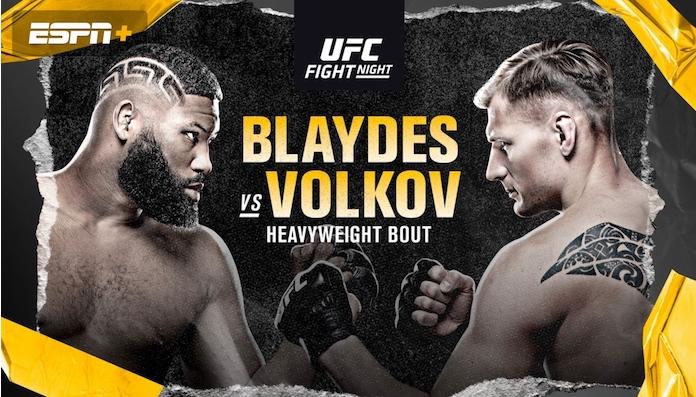 [UFC on ESPN11 트윗 단신] 커티스 블레이즈 VS 알렉산더 볼코프 MMA 선수들의 승자 예상