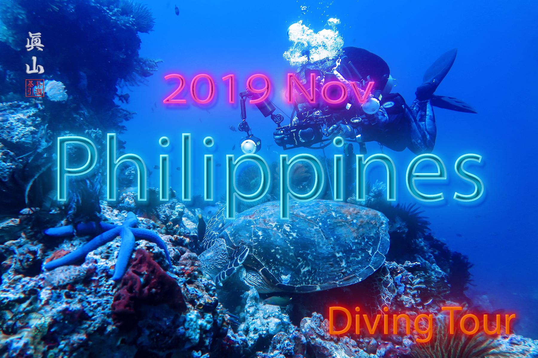 2019년 11월 다이빙 투어