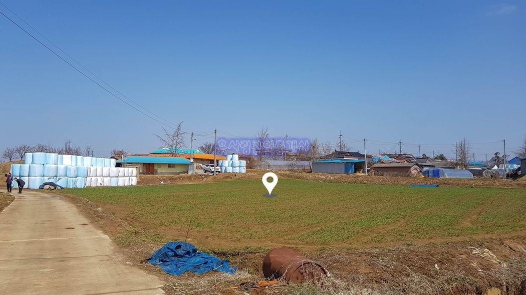 예산~홍성간 국도변 인근에 건축허가를 득한 주택부지