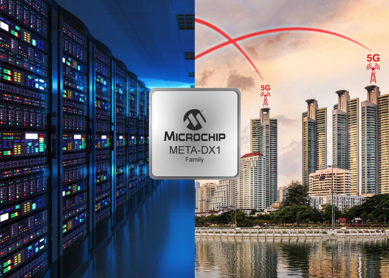 고속, 보안, 유연성 단일칩으로 통합...마이크로칩, META-DX1 이더넷 PHY 제품군
