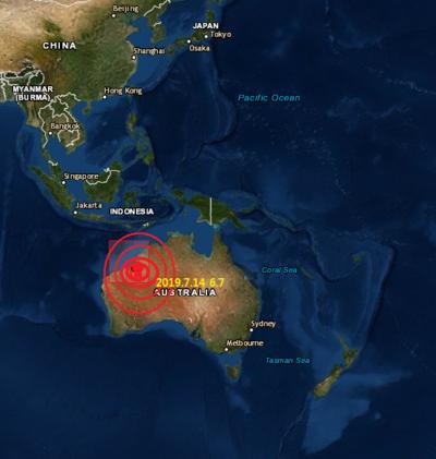 Aus 6.6 & indonesia 7.3 earthquake july 14★ 인도네시아 호주 지진 ★환태평양지진 기간적중