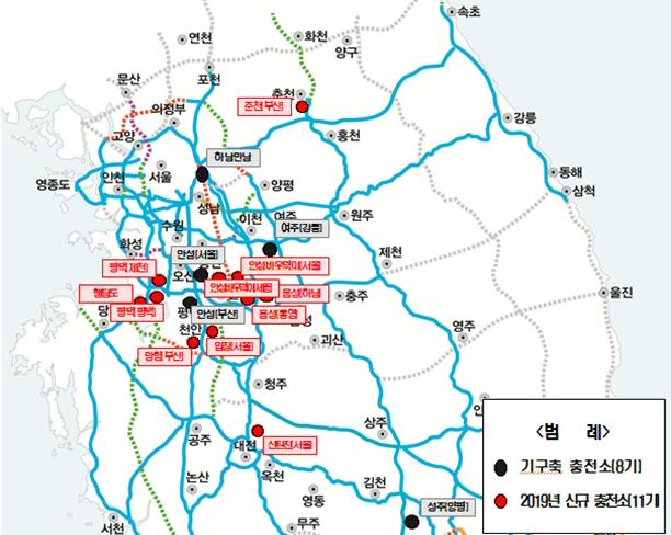 '고속국도 제 55호 중앙선 춘천 휴게소 수소충전소 구축협약' 체결