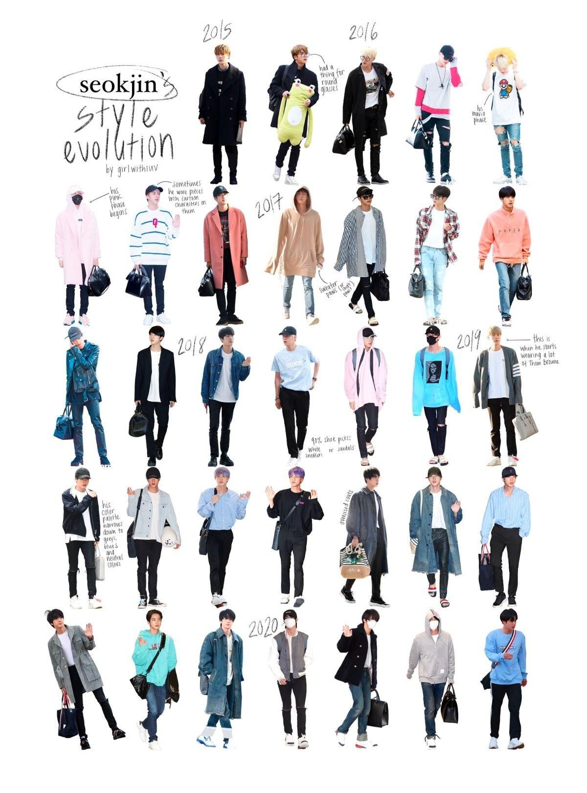 방탄소년단의 사복스타일을 한눈에 알아보자.jpg
