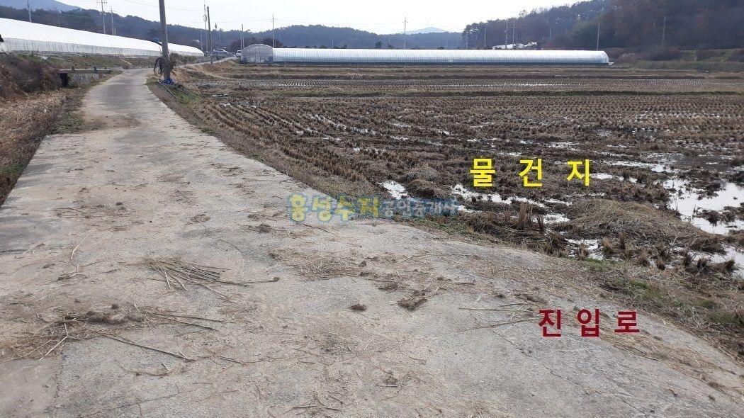 지하수가 많은 지역, 딸기나 버섯재배용으로 딱 맞는 토지