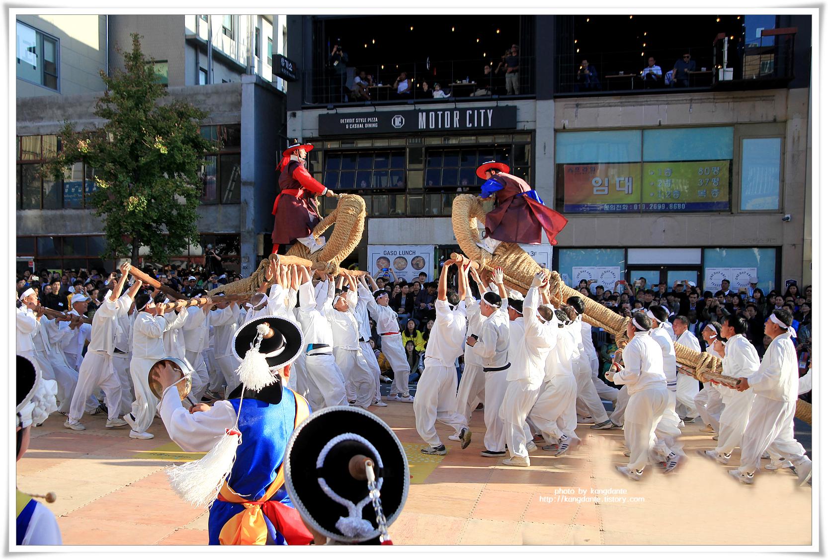 전통 민속놀이 고싸움놀이, 2019 이태원 지구촌축제