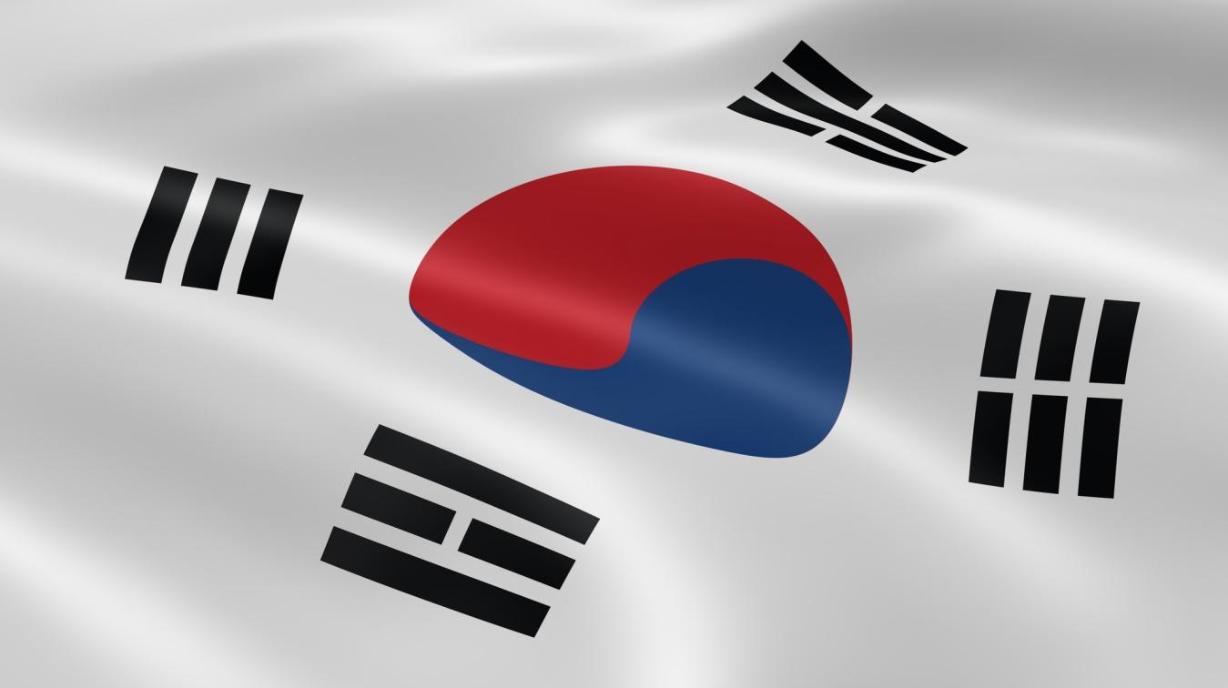 South Korean flag Depositphotos