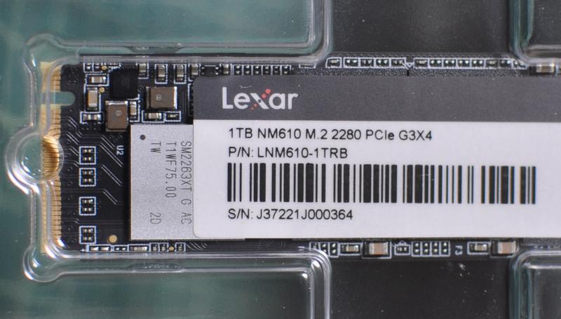 Lexar NM610 1TB SSD