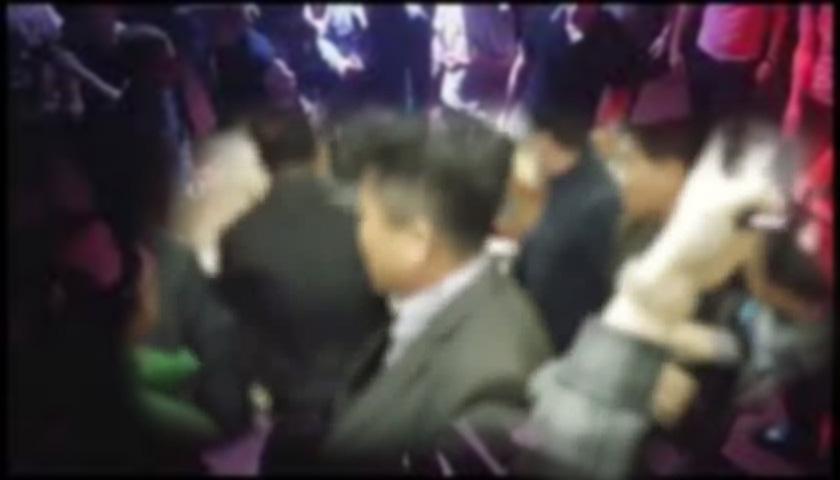 서울 강남 대형교회서 '집단 패싸움' 벌였다