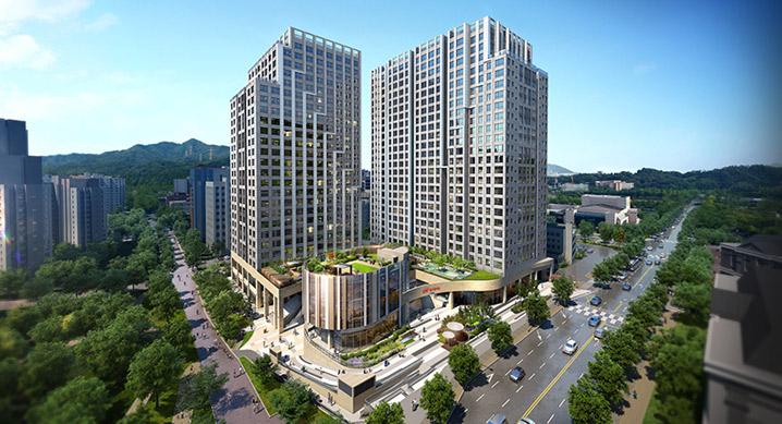 현대건설, '힐스테이트 과천 중앙' 주거복합단지 16일부터 분양