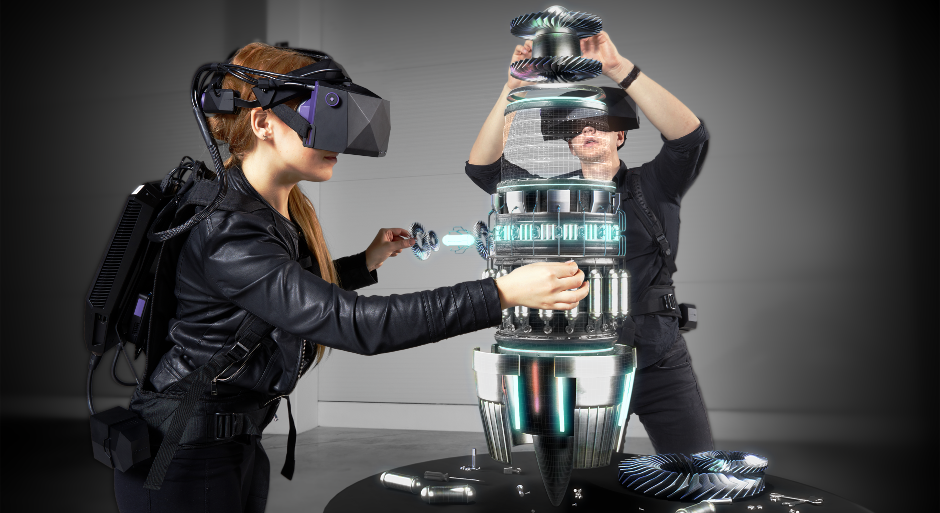 8K 지원 기업용 VR 헤드셋…VR기니어,  차세대 'XTAL'  모델 공개
