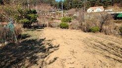 동남향으로 시야가 트인 전원주택지 500평