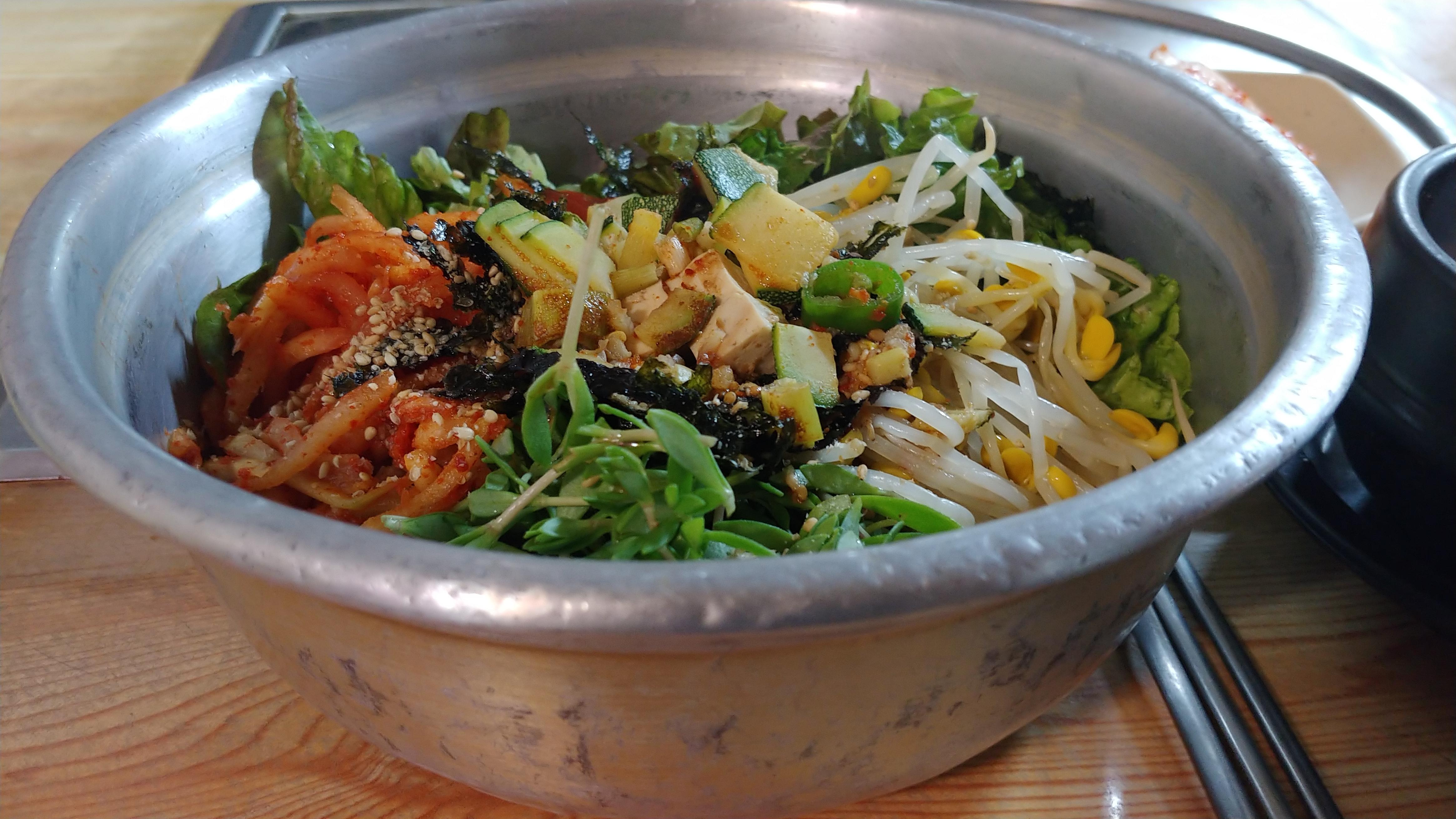 [행복찾기] 거창 5일장 보리밥 비빔밥 한 그릇