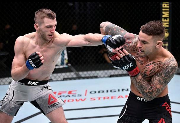 [UFC 스탯] UFC on ESPN 12 인상적인 스탯 - 라이트급 기록을 갈아치운 포이리에와 후커 콤비