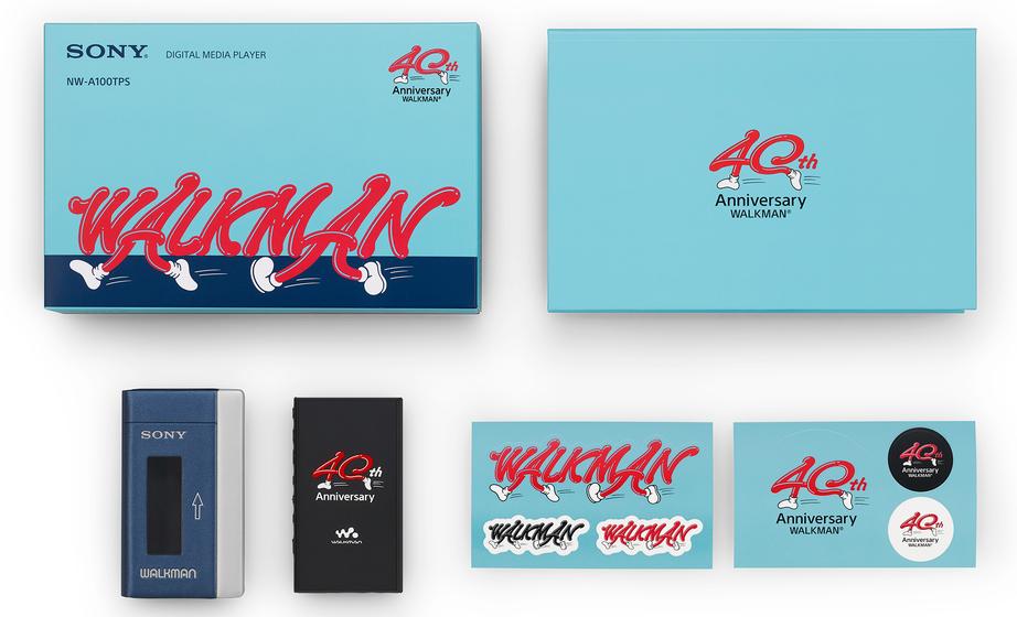 워크맨 40주년 기념모델 200대 한정판매