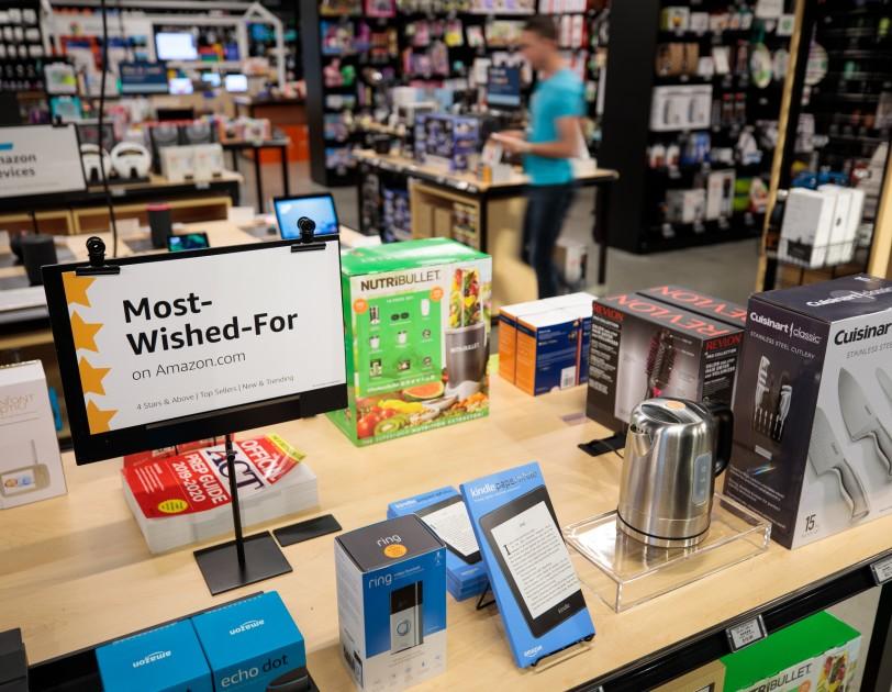 평점 4점 이상 인기 상품만 판매…아마존, 4번째 4-스타 오프라인 매장 오픈