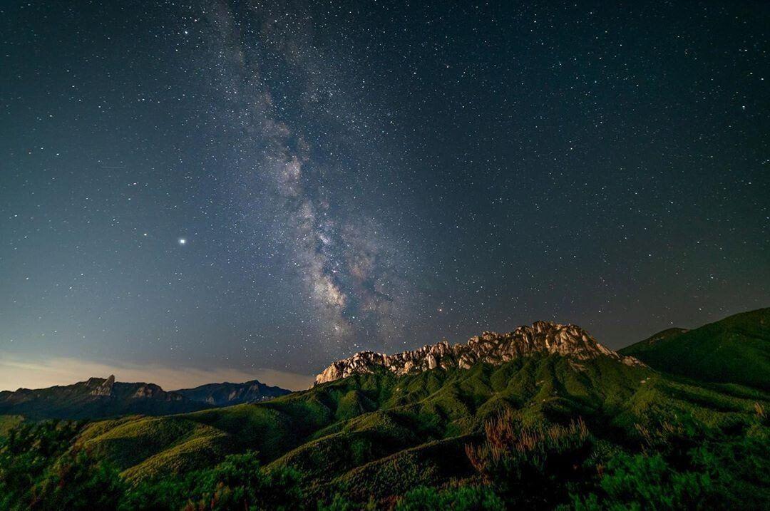 한국에서 은하수를 가장 이쁘게 볼 수 있는 곳.jpg