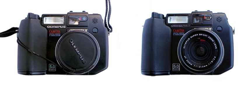 소중히 아끼던 디지털 카메라 분실