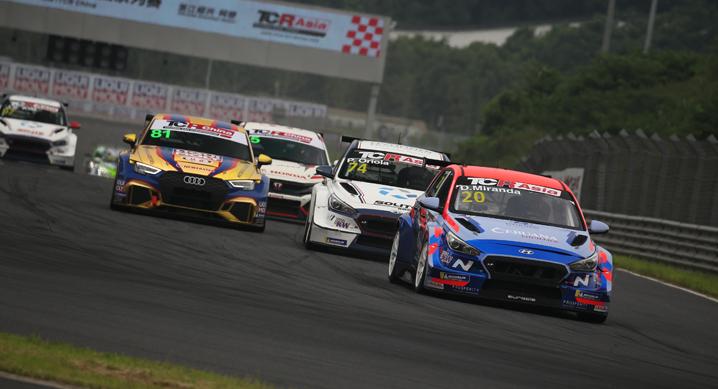 현대자동차, TCR 아시아 시리즈 중국 3개 대회(5~7월) 모두 우승