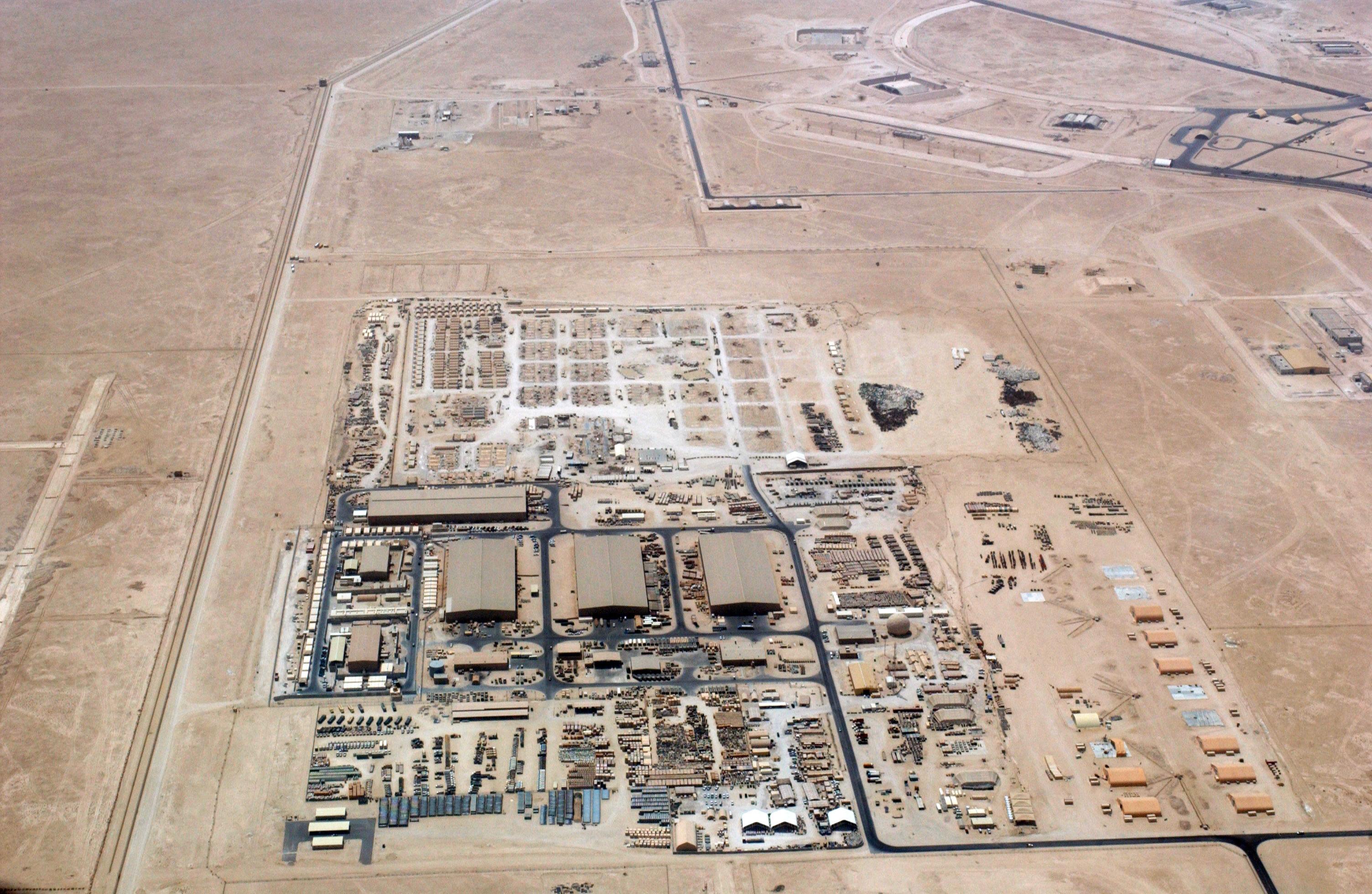 [구정은의 '수상한 GPS']카타르 기지의 미군 폭격기, 이란으로 날아갈까
