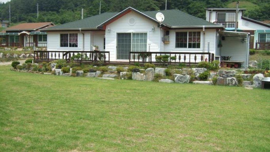 전원주택과 턱밭