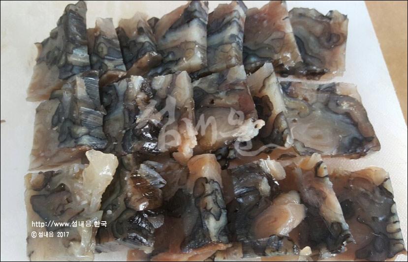 국산 홍어 썹질 100% 껍질묵, 홍어묵, 홍어껍질묵