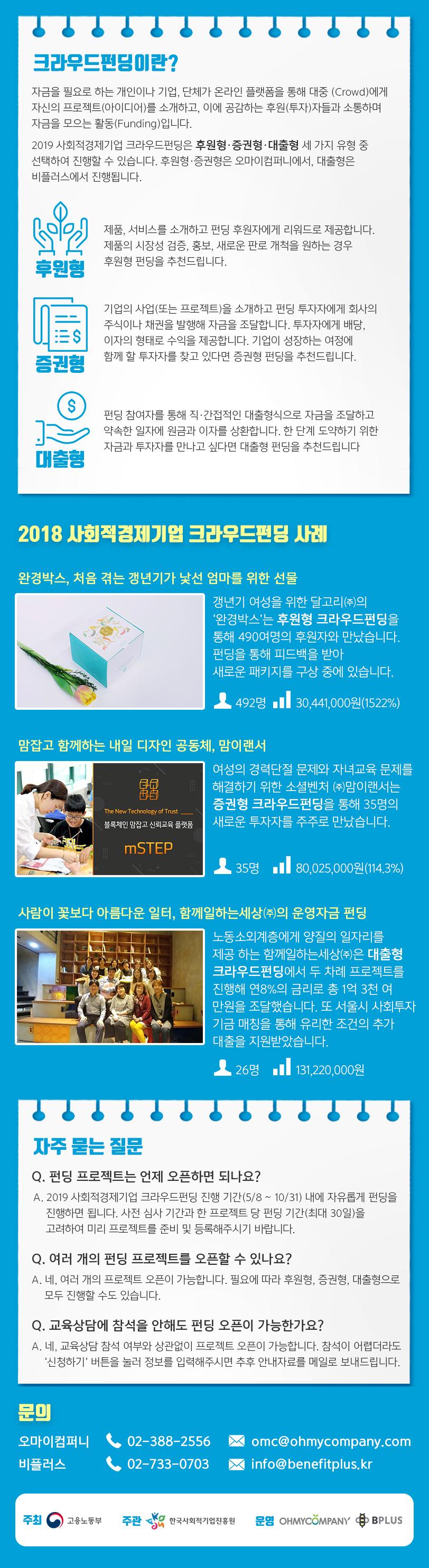 [공지] 한국사회적기업진흥원 | 찾아가는 크라우드펀딩 교육상담회 개최 안내 (강릉 8/29)