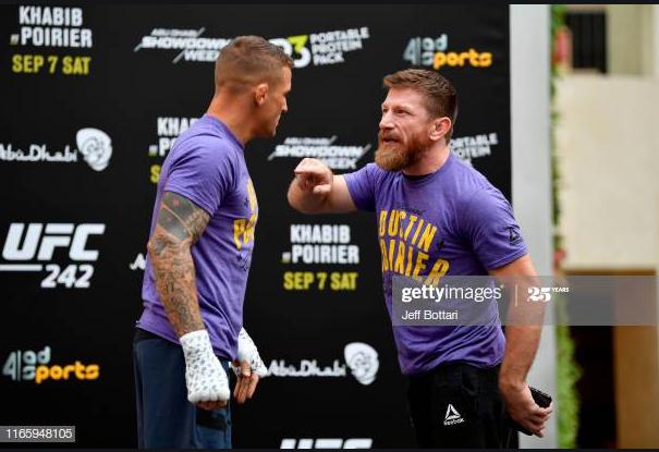 [UFC 인터뷰 소식] 마이크 브라운(더스틴 포이리에의 헤드코치) : 댄 후커를 이긴 원동력은 인내심과 컨디셔닝