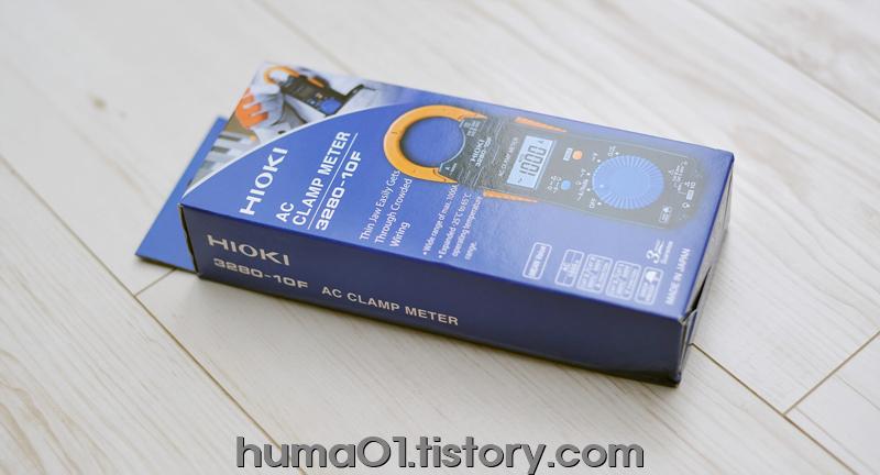 (임시)히오키 3280-10F 클램프 멀티테스터
