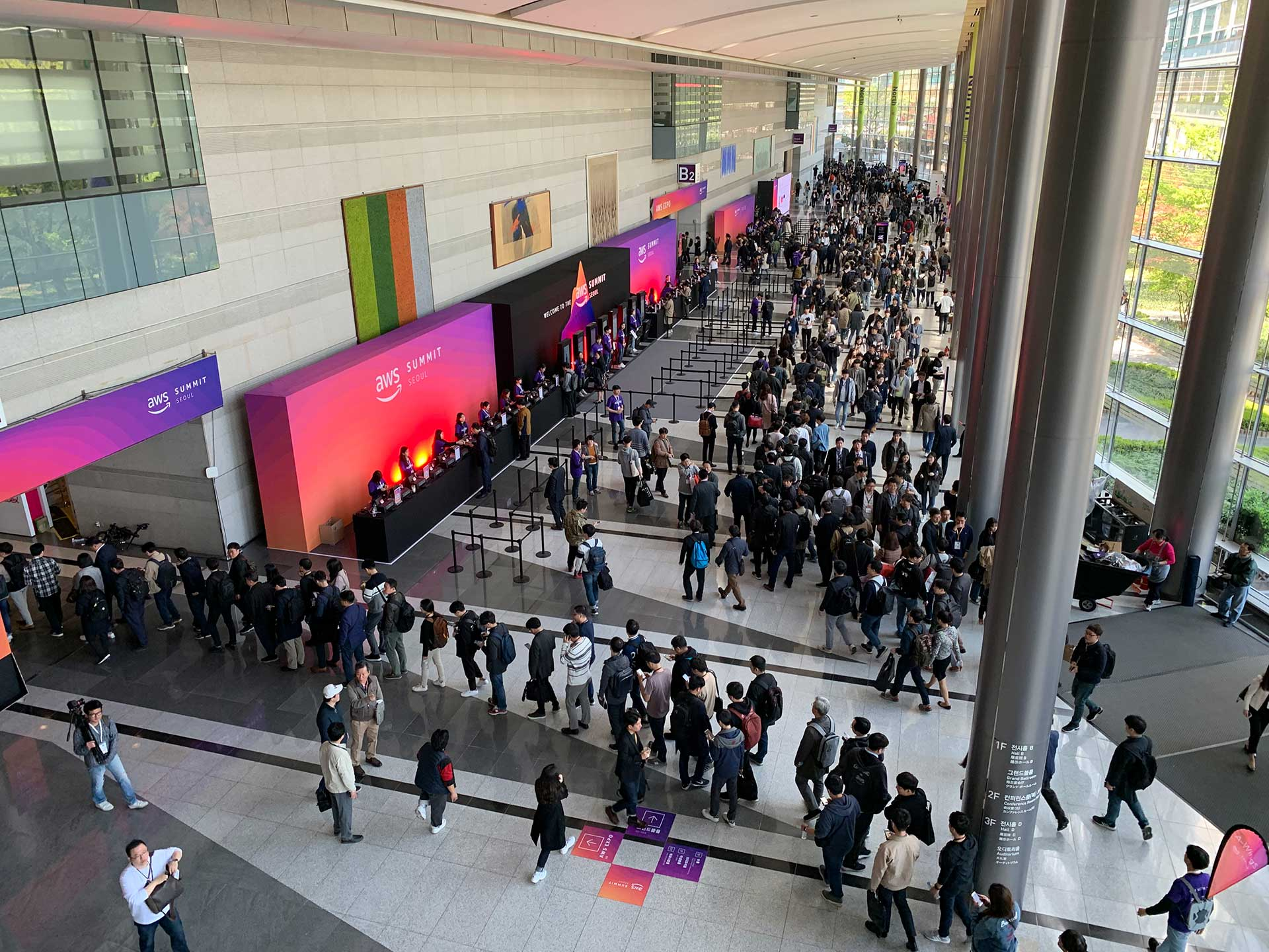 AWS Summit Seoul 2019 행사 스케치 - 1일차 / 제2부