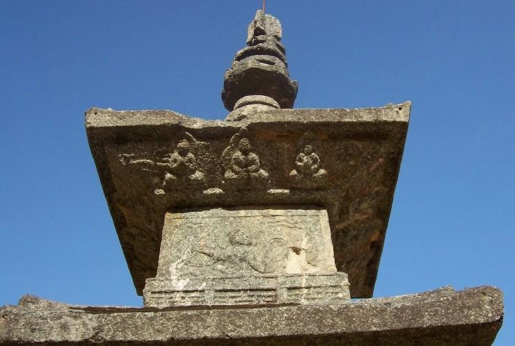 남원 백장암 3층 석탑