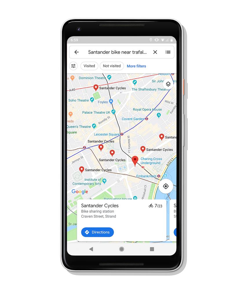 구글지도에 자전거 공유 서비스…구글, 바이크쉐어링 16개국 24개 도시 제공