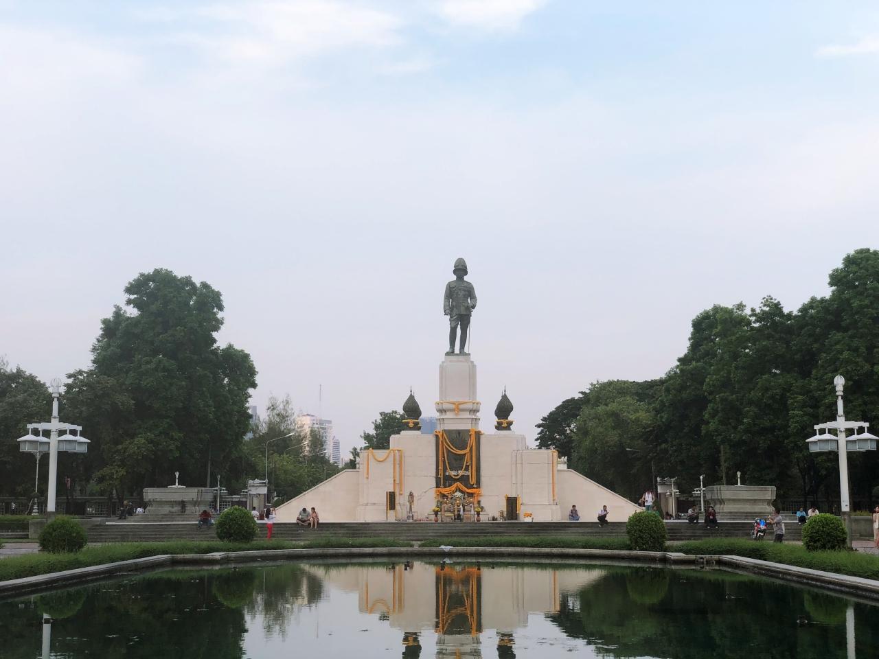 [방콕여행] 방콕의 허파 역할을 하는 공원《룸피니 공원》