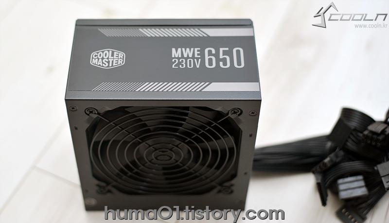쿨러마스터 MWE650 WHITE 230V V2 파워서플라이
