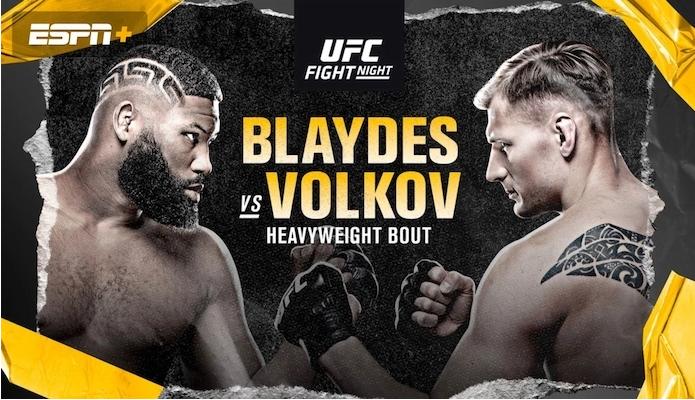 커티스 블레이즈 VS 알렉산더 볼코프 예상 분석 - UFC on ESPN 11