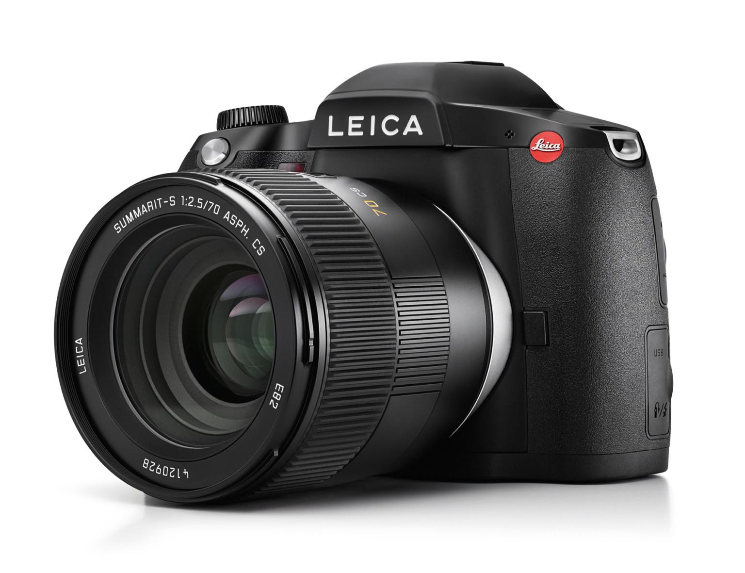 6400만 화소의 중형 카메라 라이카 S3 발표