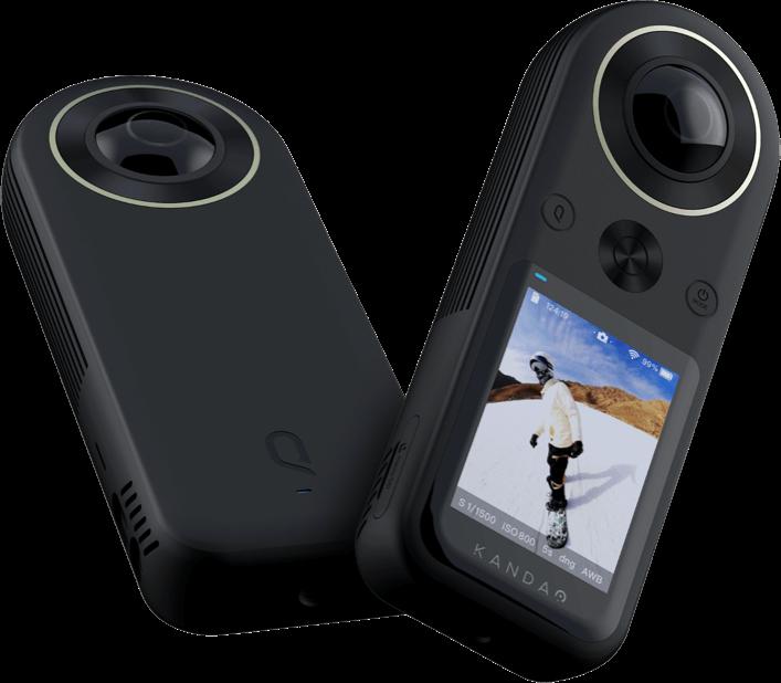 초소형 초경량 8K 360 카메라…칸다오, 8K 30프레임 촬영 쿠캠 8K 발표