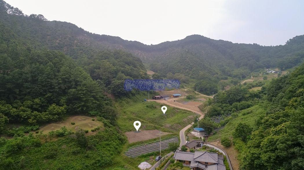 강원도풍 산골마을내 공기좋은 전원주택지