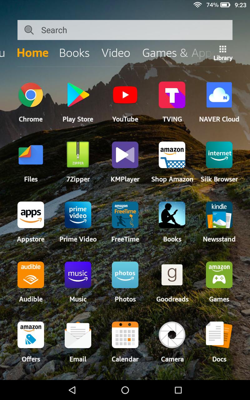 아마존 파이어 HD 8 2018(6.3.1.5)에 리니지 OS 설치하기