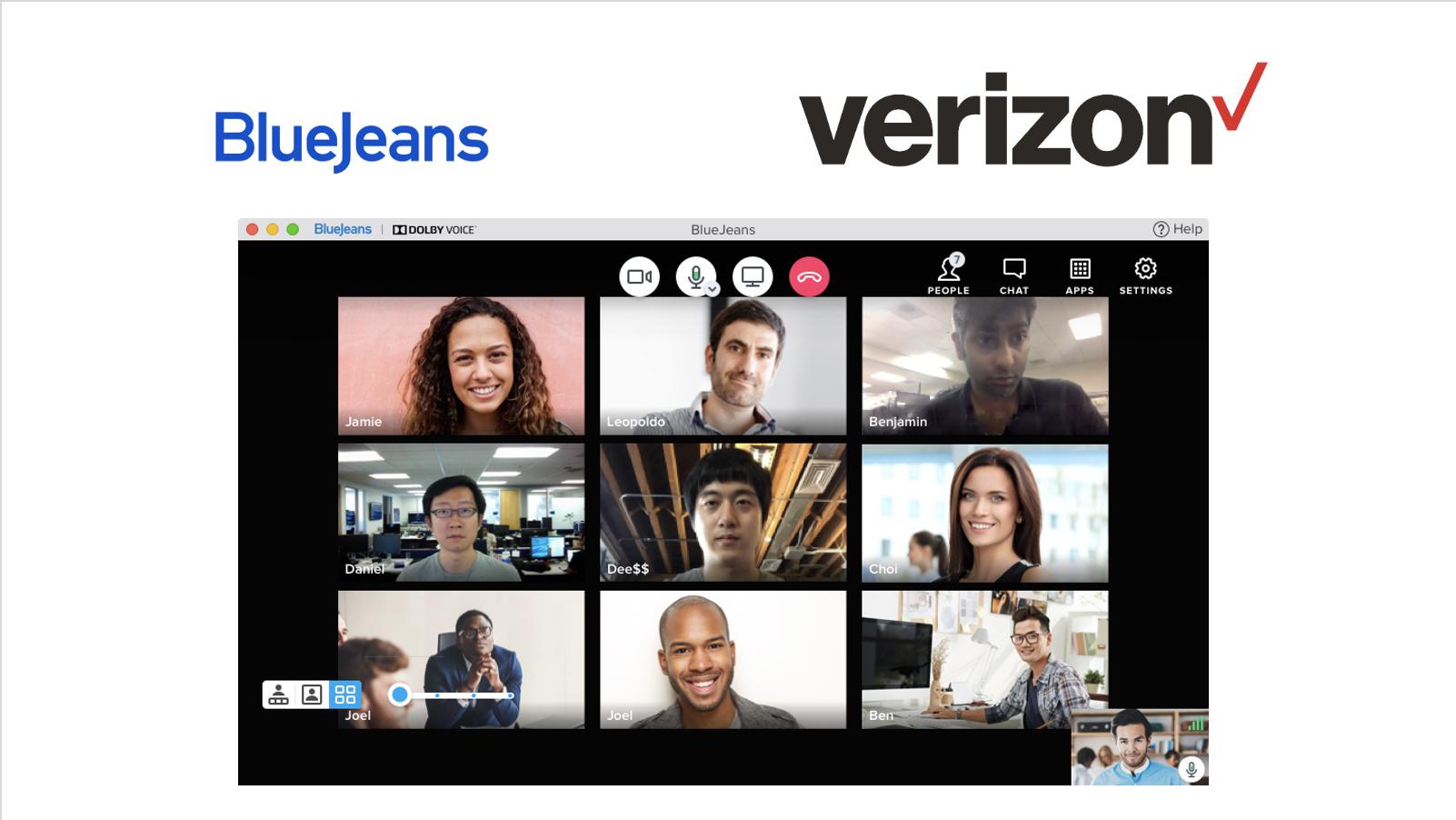 버라이즌, 화상회의 플랫폼 블루진 인수…네트워크 및 5G와 결합한 시너지 기대