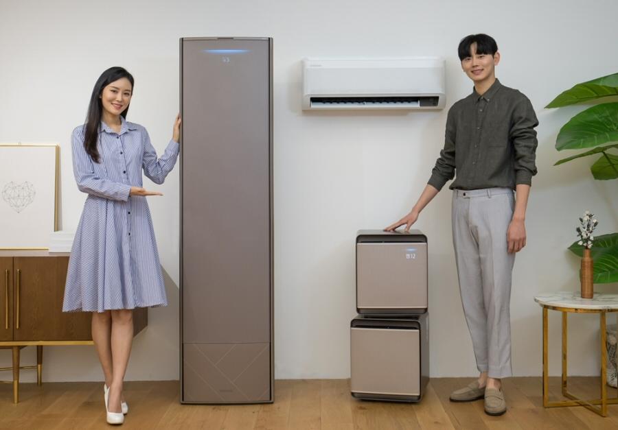 삼성전자, 2020년형 '무풍에어컨'과 공기청정기 '무풍큐브' 공개
