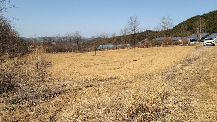 남향으로 시야가 트인토지로 저렴하여 귀농귀촌하실분 추천해드립니다