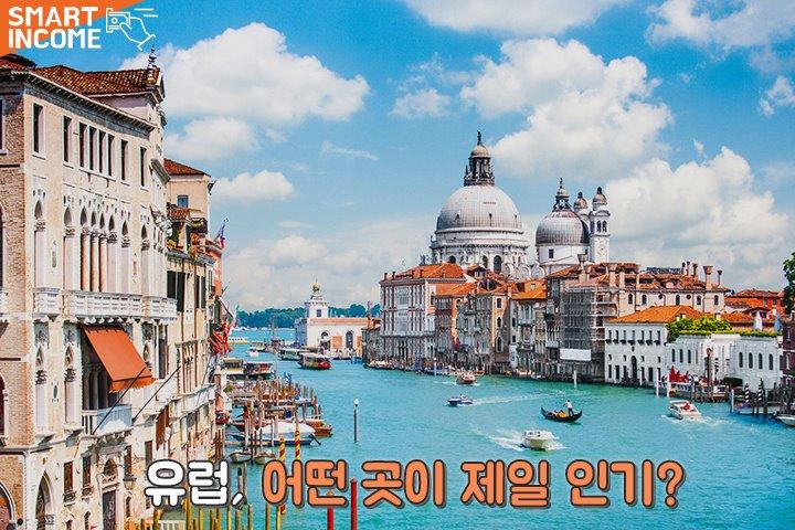 한국인들이 가장 먼저 찾아가는 유럽 인기 여행지 순위