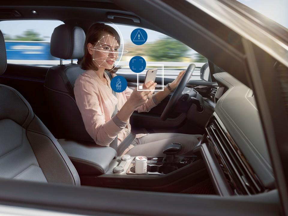 차 안에서 일어나는 일을 AI는 알고있다...보쉬, 차량 내부 AI 모니터링 시스템