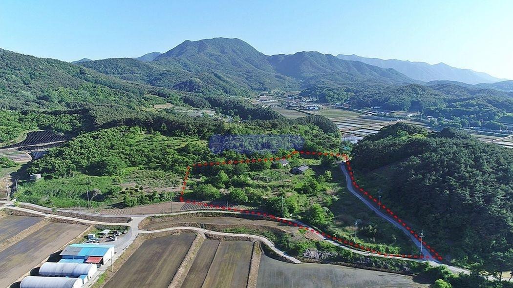 면소재지내 4차선 국도변 대규모 수익성 영농에 적합한 토지