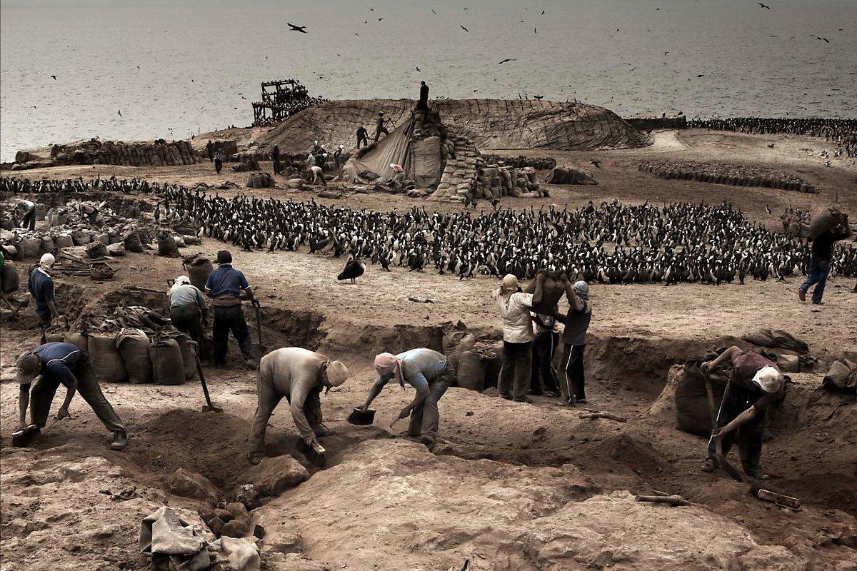 남미태평양 전쟁, 새똥 전쟁(페루, 칠레, 볼리비아)